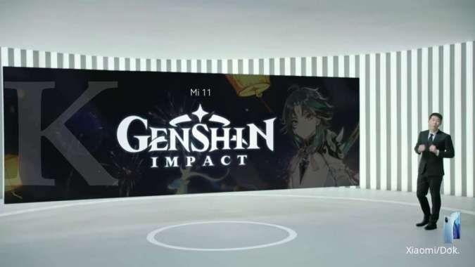 Mi 11 X Genshin Impact