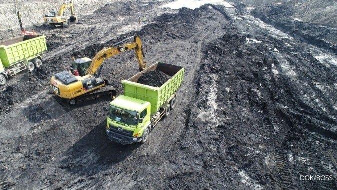 Sumberdaya batubara Borneo Olah Sarana (BOSS) mencapai 37,85 juta ton