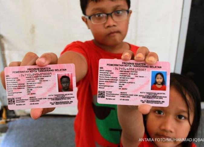 Ingin membuat Kartu Identitas Anak atau KTP Anak, ini syarat dan caranya