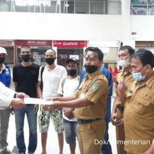 KKP Pulangkan Tiga Nelayan Indonesia yang Ditangkap di Malaysia