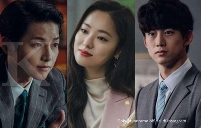 Drama Korea terbaru Vincenzo di tvN.