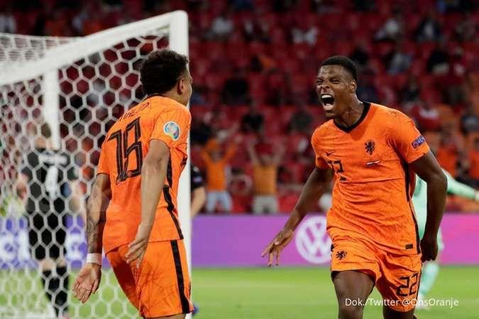 Hasil Euro 2020 laga Belanda vs Austria di Grup C