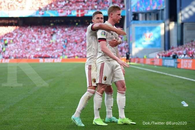 Hasil Euro 2020 di Grup B dan Grup C: Belanda dan Belgia raih tiket babak 16 besar