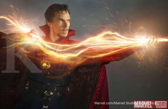 Adegan Doctor Strange di Avengers: Endgame ini dimprovisasi oleh Benedict Cumberbatch