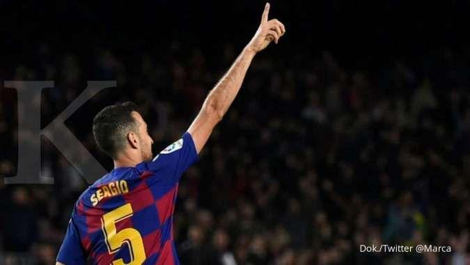 Juventus akan tukar tambah Leonardo Bonucci dengan Sergio Busquets dari Barcelona