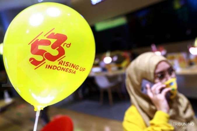 Pelanggan Indosat Ooredoo (ISAT) meningkat menjadi 60 juta pada kuartal I-2021