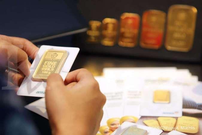 Harga emas 24 karat Antam hari ini tetap Rp 937.000 per gram, Sabtu 11 Juli 2020