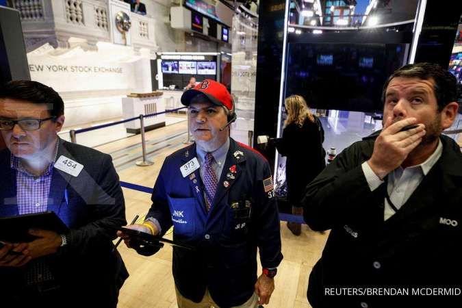 Wall Street menguat pada Rabu (13/10), rilis kinerja emiten dimulai