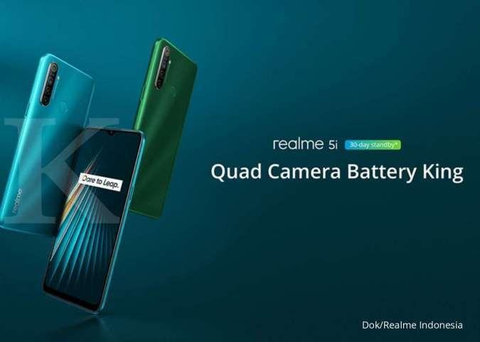 Masih banyak dicari meski sudah lawas, harga HP Realme 5i kini hanya Rp 1 jutaan