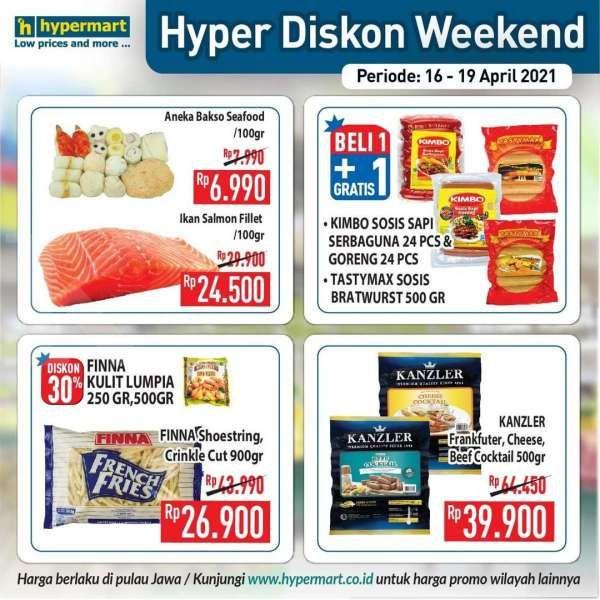 Promo Hypermart weekday 19 April 2021, diskonan hari kerja!