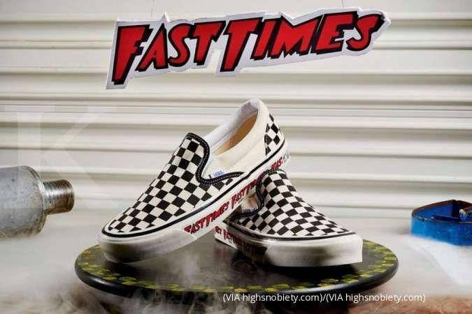 Bakal dirilis ulang, inilah sneaker Sean Penn Vans Checkerbo yang legendaris