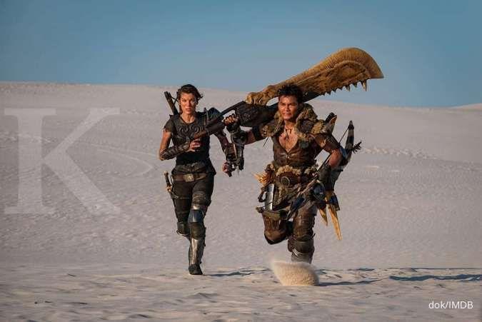 Film Monster Hunter tayang mulai hari ini, Milla Jovovich memburu monster dimulai