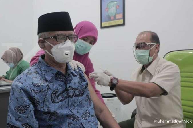 Komentar Ketua PP Muhammadiyah Haedar Nashir pasca divaksin Covid-19