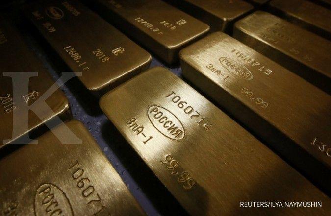 Harga emas bisa berbalik menguat jika dua kesepakatan runtuh