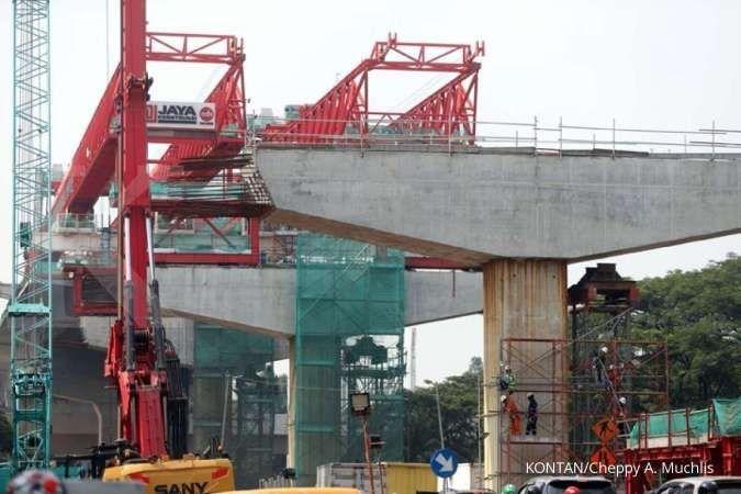 Ini progres pembangunan jalan tol layang dalam kota Jakarta