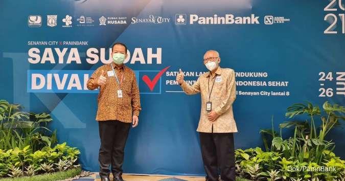 Bank Panin gelar vaksinasi massal 3.000 karyawan dan nasabah