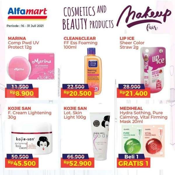 Promo Alfamart Makeup Fair Hingga 31 Juli 2021, Ada Masker Korea Beli 1 Gratis 1
