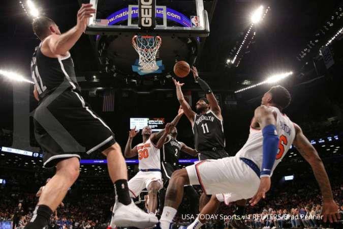 Tolak vaksinasi Covid-19, bintang NBA Kyrie Irving tidak diperbolehkan bermain