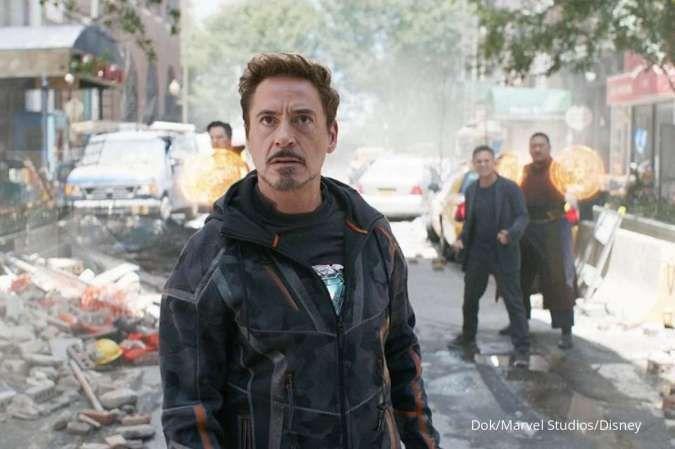 Robert Downey Jr unggah video syuting adegan yang berbeda dari film Endgame