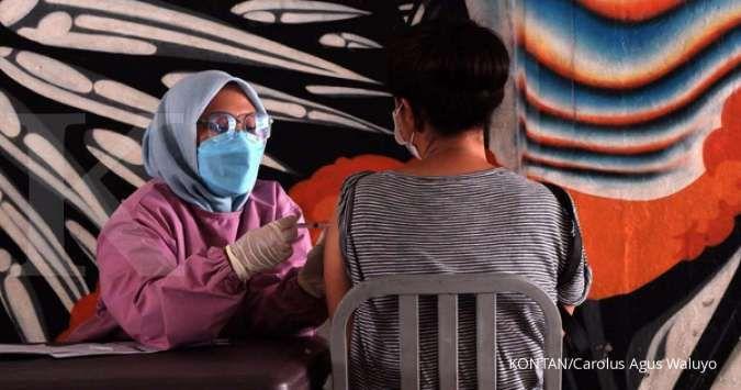 Total vaksinasi kedua di Indonesia sudah lebih dari 21 juta orang