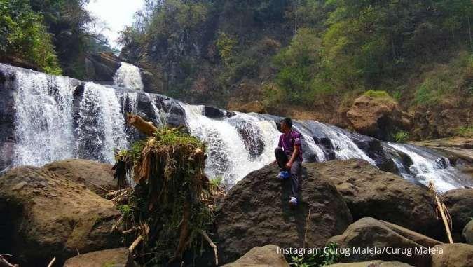 Curug Malela, air terjun yang lagi hits di Kabupaten Bandung Barat