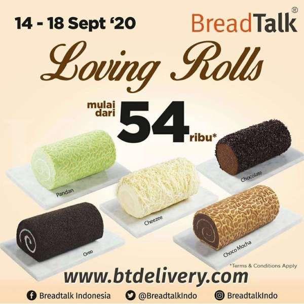Promo BreadTalk 14-18 September 2020