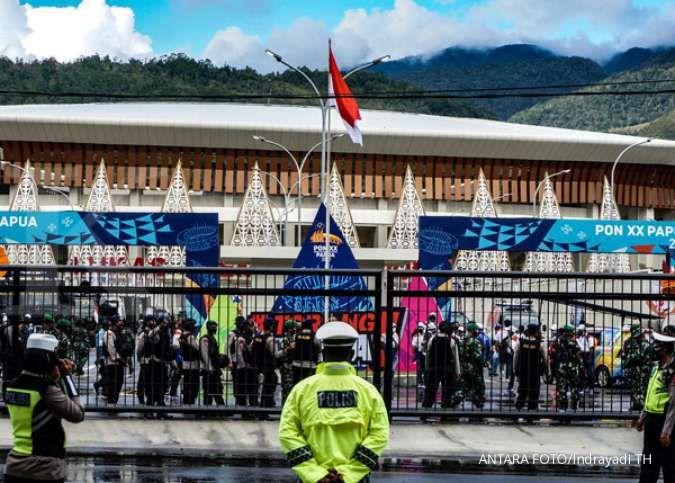 Pembangunan sembilan arena PON Papua menghabiskan biaya Rp 2,37 triliun