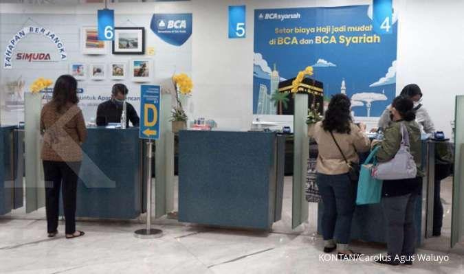 Laba bersih Bank Central Asia (BBCA) melesat 18,1% pada semester I 2021