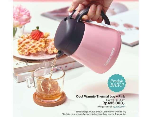Katalog promo Tupperware Oktober 2021 edisi alat minum, ada tumbler & jug baru