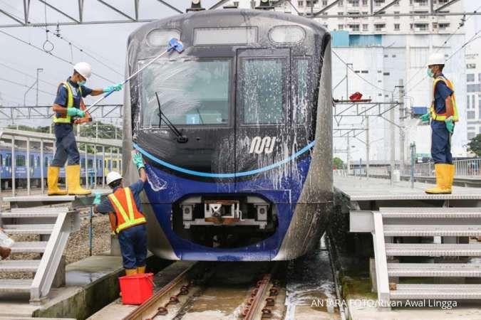 Pandemi covid-19, pendapatan tiket MRT Jakarta terkontraksi hingga 73%