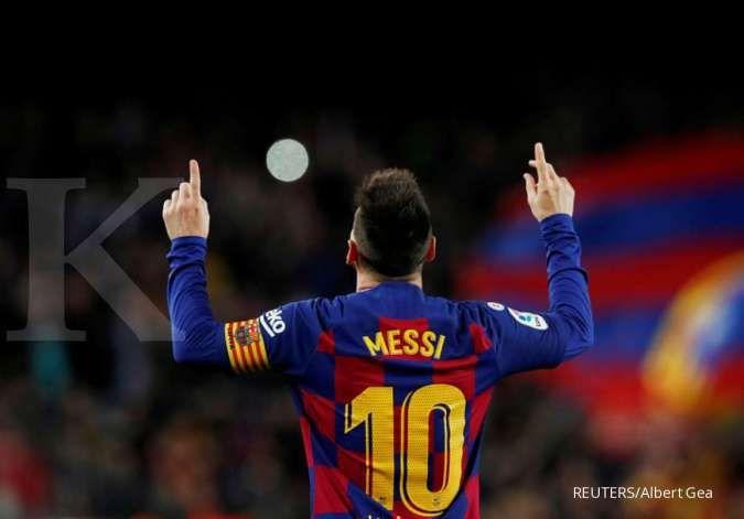 Ronald Koeman nilai PSG bisa mengganggu keputusan Lionel Messi