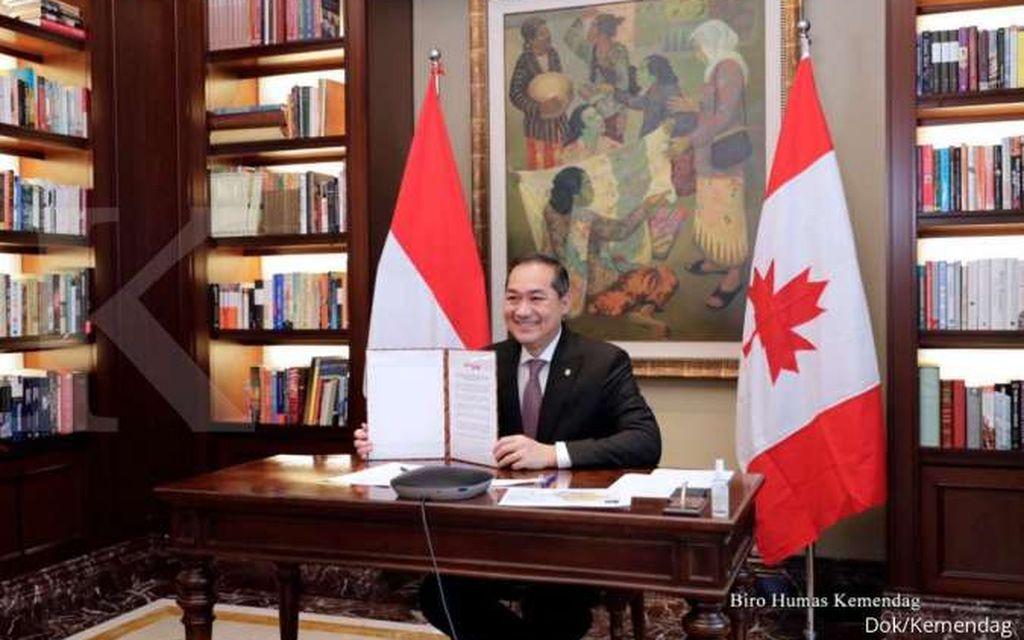 Indonesia-Kanada Luncurkan Perundingan Dagang ICA-CEPA
