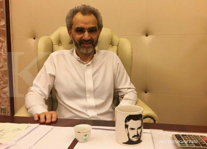 Pasca dibebaskan, kekayaan Alwaleed langsung bertambah US$ 1 miliar