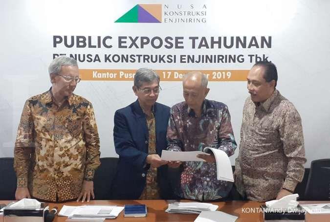Nusa Konstruksi Enjiniring (DGIK) siapkan capex Rp 100 miliar tahun depan