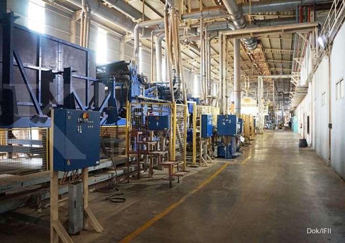 Indonesia Fibreboard Industry (IFII) berencana mengerek kapasitas produksi