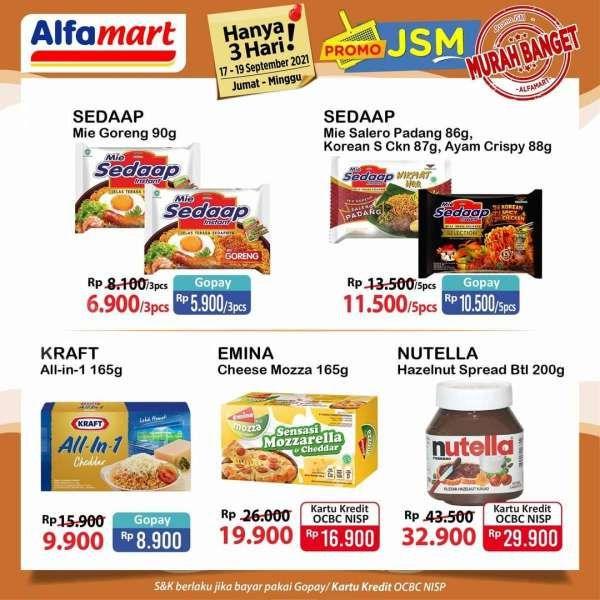 Promo JSM Alfamart 17-19 September 2021