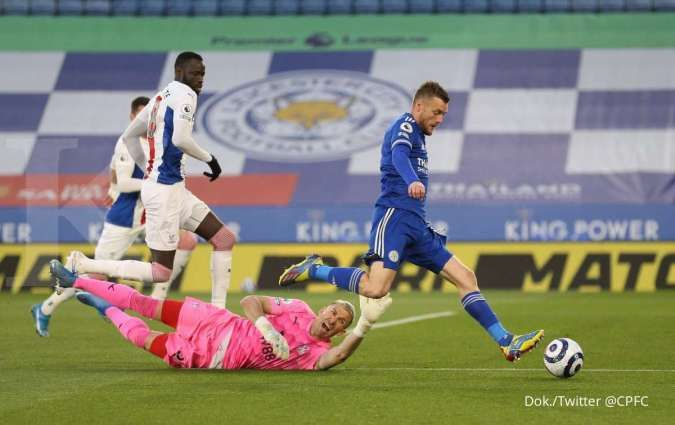 Hasil laga Leicester vs Crystal Palace di Liga Inggris