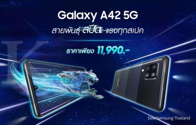 Rilis di Thailand, harga Samsung Galaxy A42 5G hanya Rp 5 jutaan