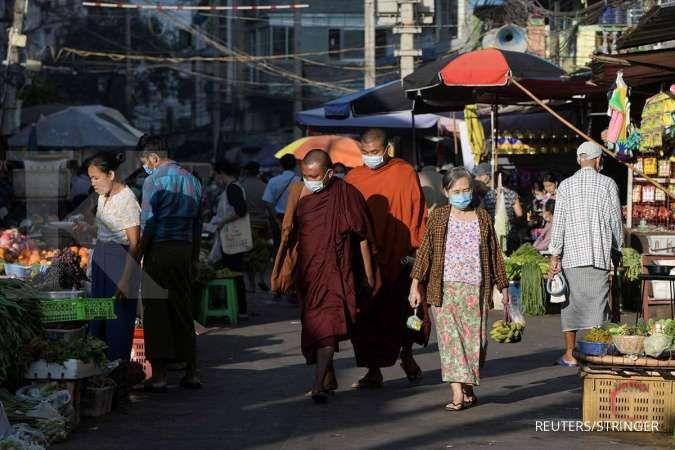 Myanmar cari bantuan internasional saat kasus COVID-19 di negara itu terus meningkat