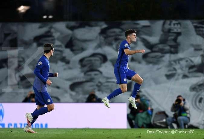 Real Madrid vs Chelsea di Liga Champions: The Blues tahan Los Blancos 1-1 di kandang