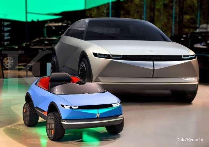 Mobil listrik terkecil dari Hyundai bersama Hyundai EV 45