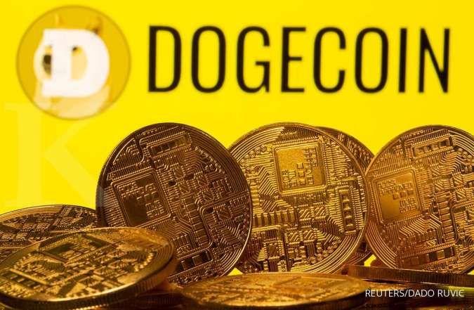 Elon Musk berkicau, harga Dogecoin melonjak lebih dari 20%