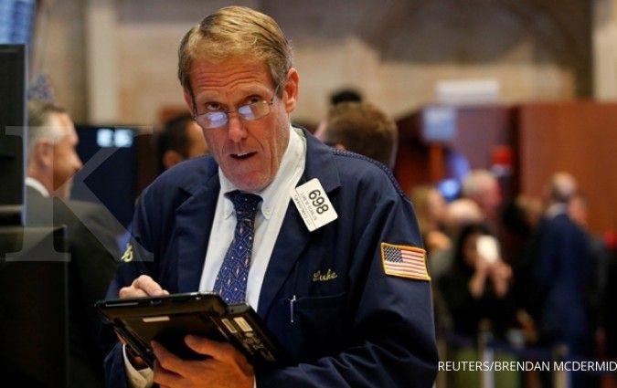 Bursa AS berfluktuasi awali bulan September