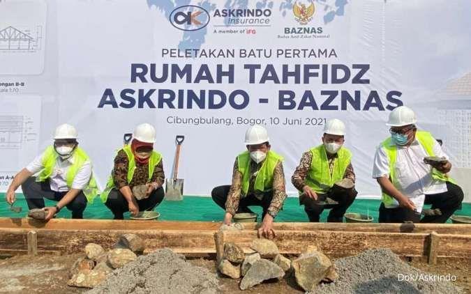 Askrindo dan Baznas bersinergi membangun rumah tahfiz di Bogor