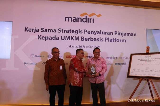 Bank Mandiri (BMRI) bidik kredit UMKM capai Rp 1 triliun lewat fintech dan e-commerce