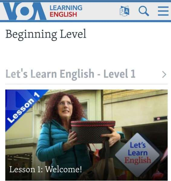 Website belajar bahasa Inggris