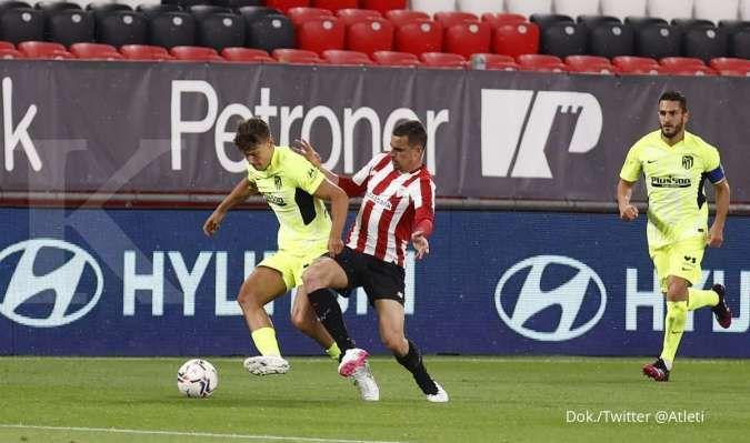 Hasil Athletic Bilbao vs Atletico Madrid di La Liga Spanyol
