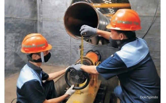 Tahun ini, Steel Pipe Industry Indonesia (ISSP) bidik pertumbuhan penjualan 20%