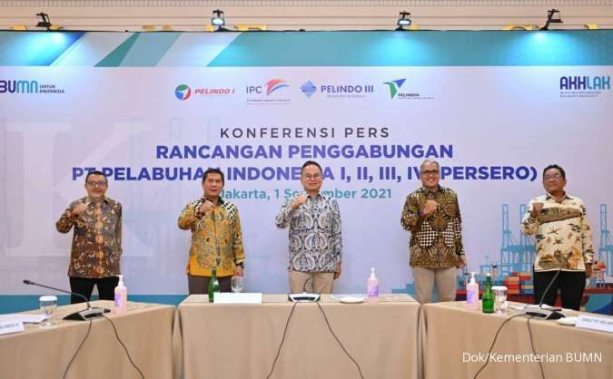 Merger Pelindo I-IV akan mendukung pertumbuhan ekonomi nasional dan daerah