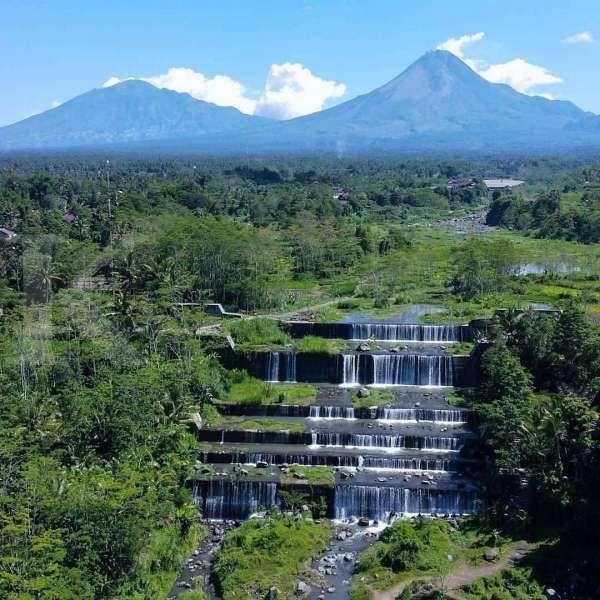 Grojogan Watu Purbo, air terjun enam tingkat yang lagi hits di Yogyakarta